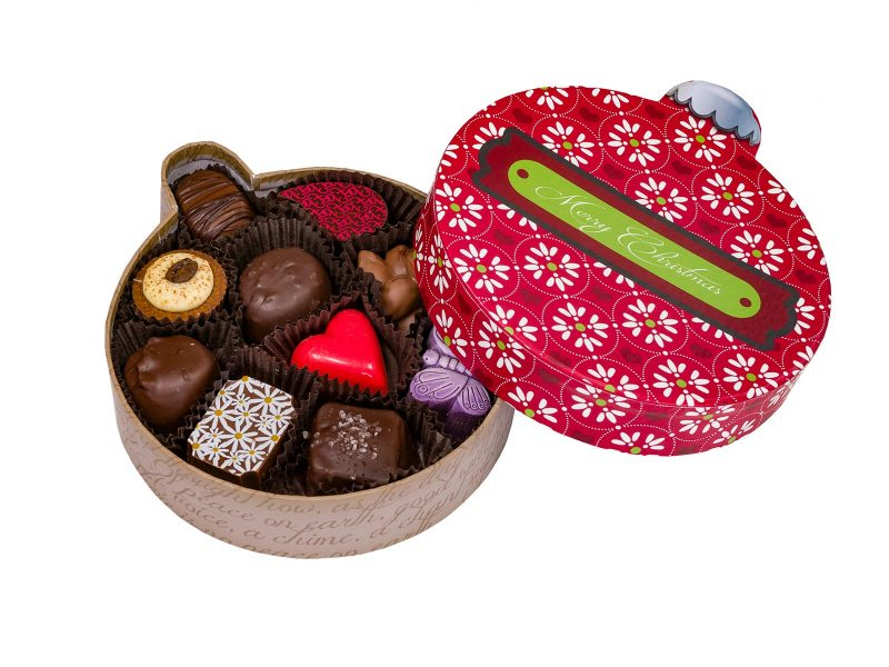 Chocolate Ornament Box