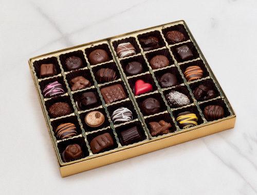 Nuts and Chews Chocolate Box
