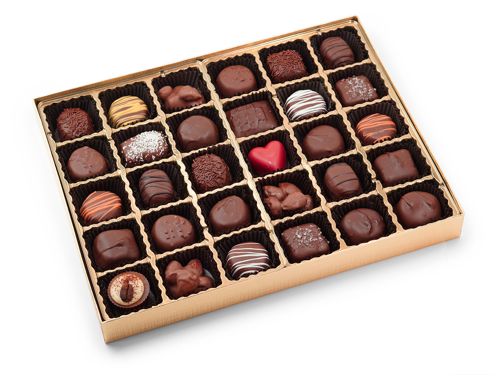 30 Piece Chocolate Assortment box
