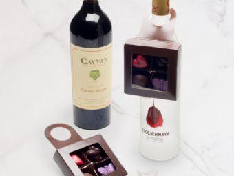 wine hanger candy box