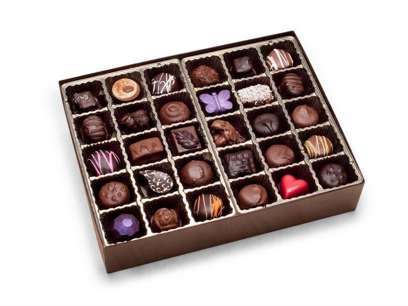 60 piece chocolate gift box