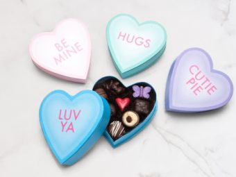 Conversation Heart Boxes