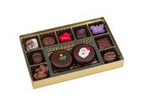 Christmas Oreo cookie and chocolate box
