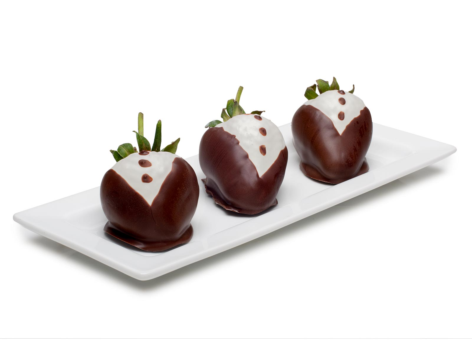 Chocolate Strawberries, Tuxedo Bride, 9 pc.