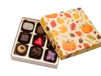 Autumn chocolate Box