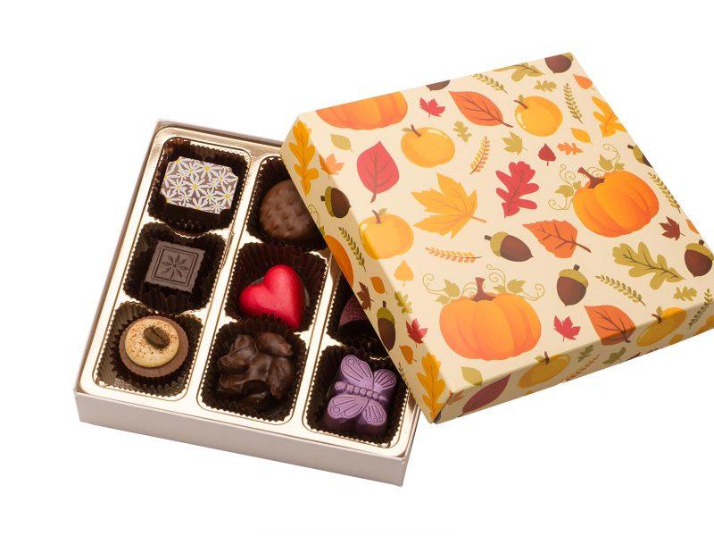 Autumn chocolate Box