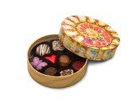 shell design chocolate box