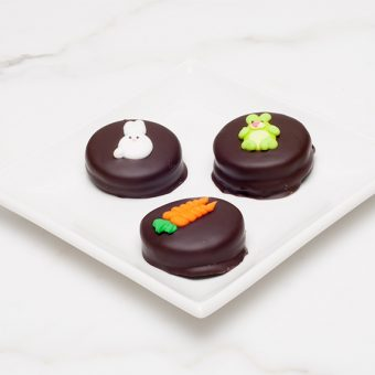 Double Stuf Oreo Easter cookies