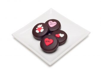 Chocolate Double Stuff Oreo Valentine's Day