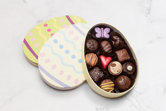 Easter egg chocolate gift box negle Choice Image