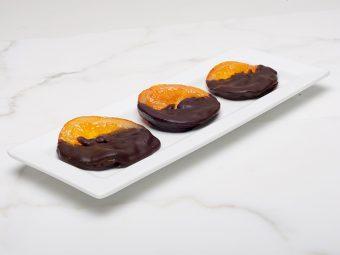 chocolate dipped orange slices