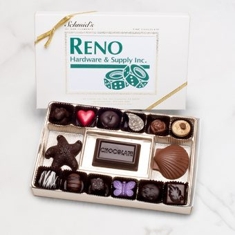 Corporate Business Logo Chocolate Box