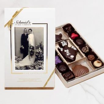 Personalized Photo Box of Chocolates